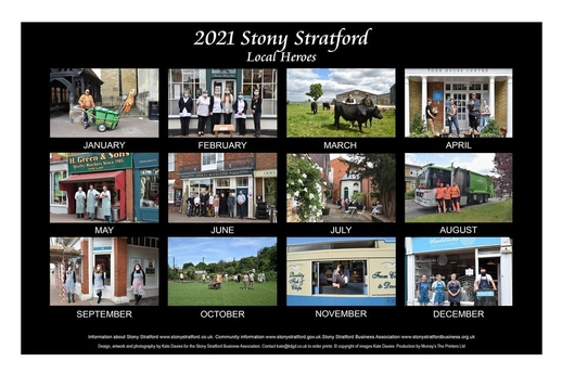 Stony Stratford 2021 Calendar out now!