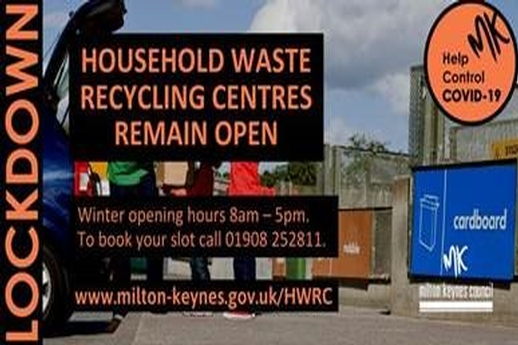 Update on Milton Keynes Council Waste & Environment Services During the Latest Lockdown